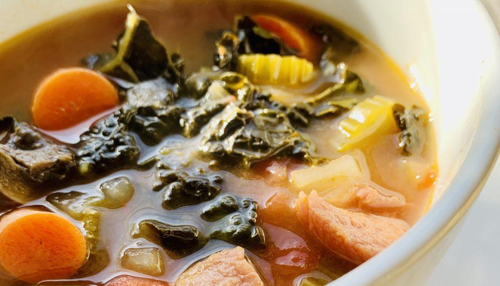 Easy Hearty Kale Soup